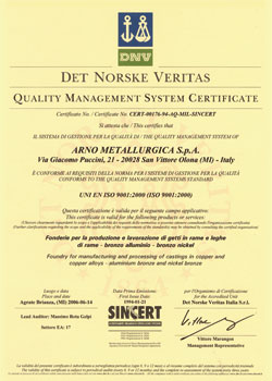 QUALITY - CERTIFICATIONS 1